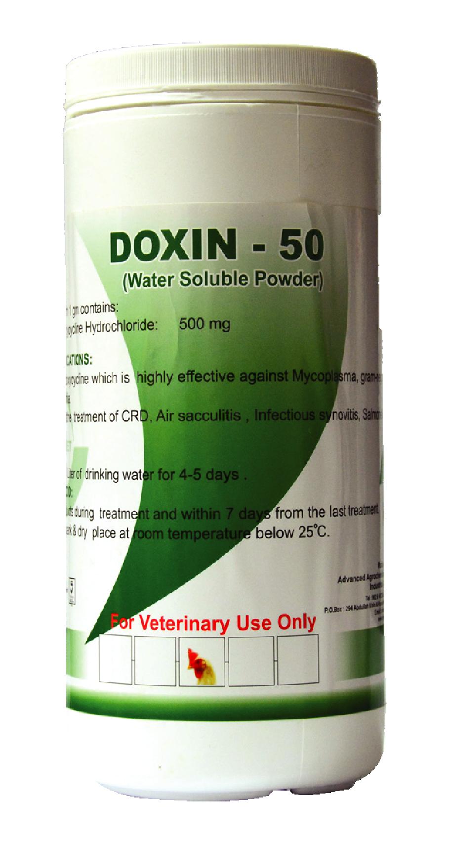 Doxy ban 50%